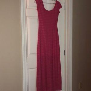 Pink Maxi Lily Pulitzer Dress